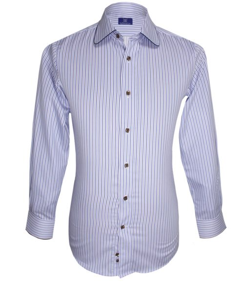Signature Striped Shirt with Detailing